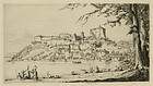 """Herman Armour Webster, etching, """"Capodimonte, Italy"""""""
