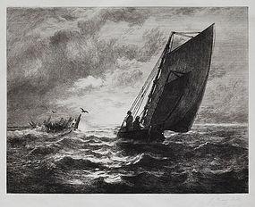John Henry Hill, Etching, 1886