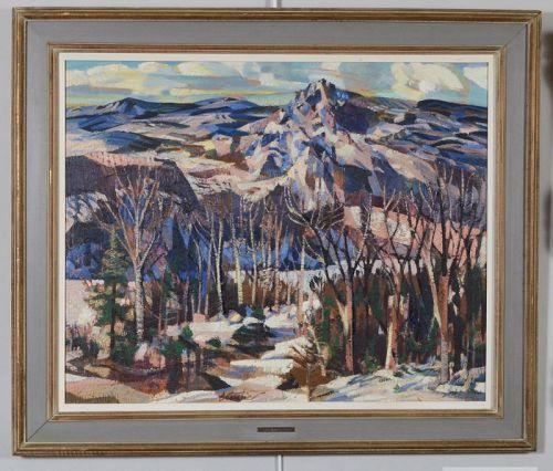Winter Lac Ouimet, Mont Tremblant