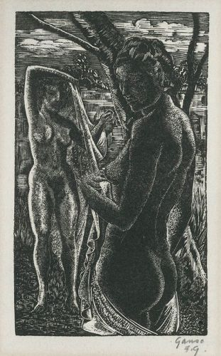 Nude Bathers, Emil Ganso