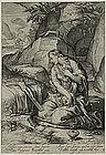 "Jacob Matham, Engraving, ""St. Mary Magdalen Penitent"""