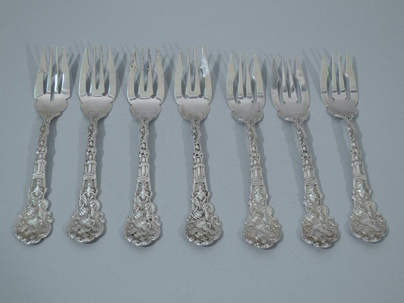 Versailles by Gorham Sterling Silver Salad Fork Pierced 5 78