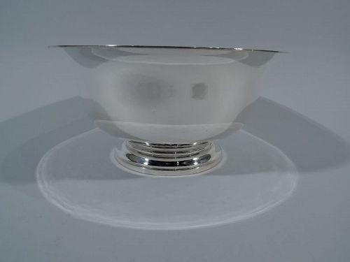 Georg Jensen USA Hand-Hammered Sterling Silver Revere Bowl