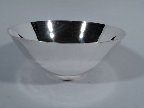 American Colonial Revival Sterling Silver Bowl by Tiffany