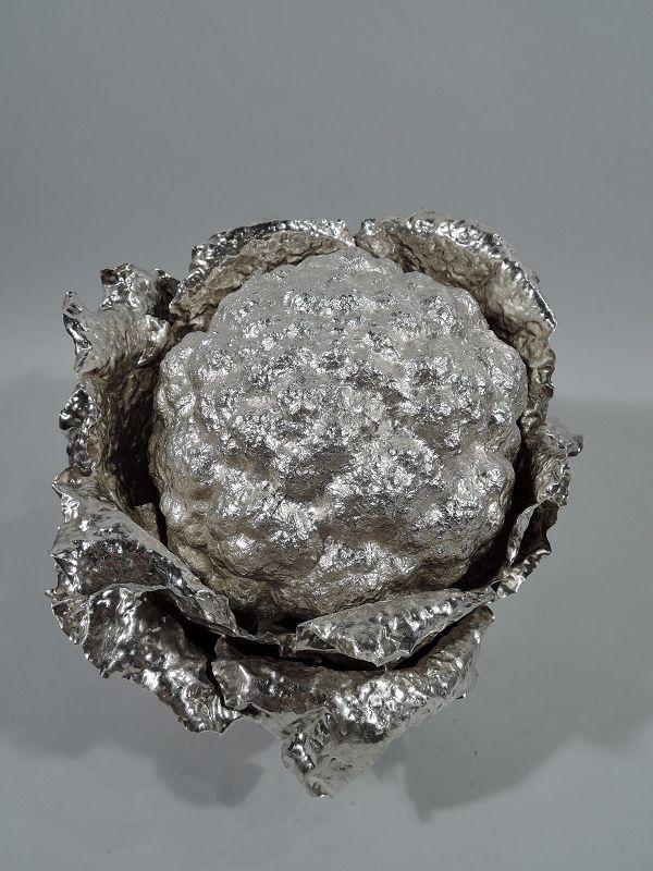 Wonderful Buccellati Sterling Silver Cauliflower Soup Tureen