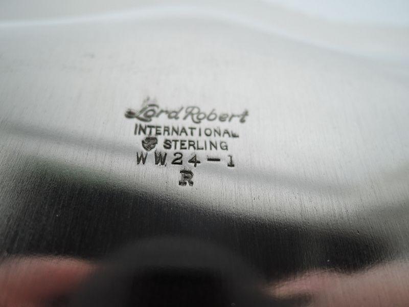 International Lord Robert Sterling Silver Georgian Tray