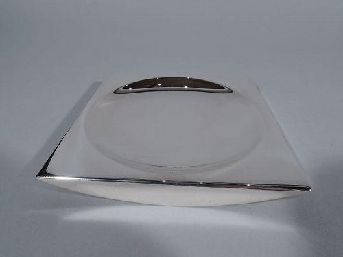 Tiffany Midcentury Modern Sterling Silver Dish