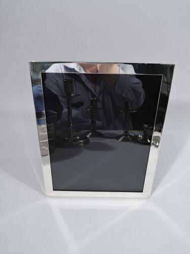 Tiffany Modern Sterling Silver Frame for Portrait of Landscape Picture