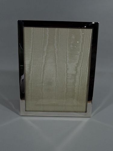 Tiffany Large Modern Sterling Silver Office Picture Frame