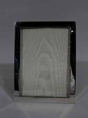 Tiffany American Modern Sterling Silver Picture Frame