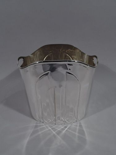 Cartier Super Stylish Sterling Silver Wine Cooler