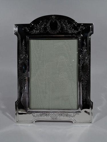 Antique Silver Picture Frames Vintage