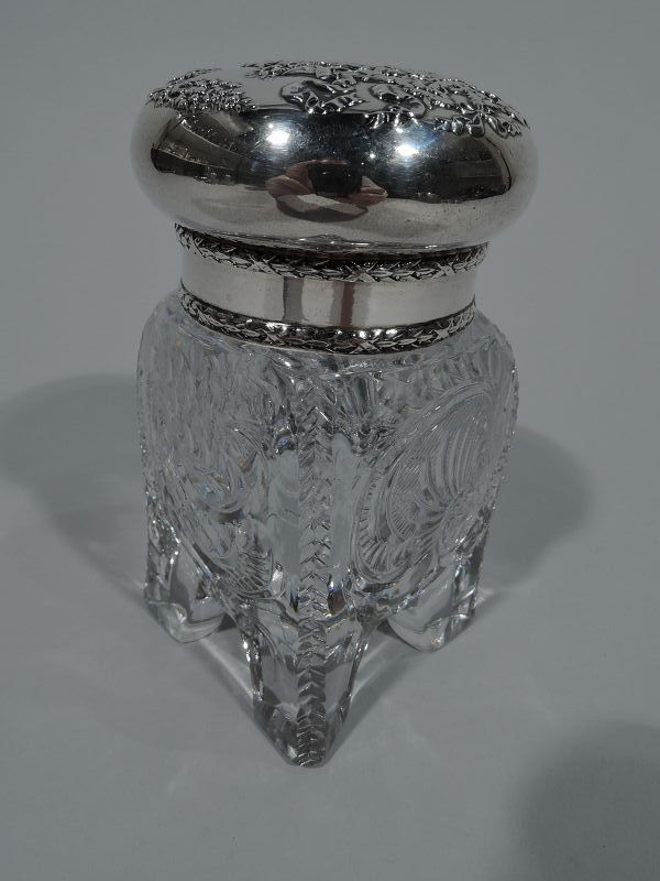 Antique American Sterling Silver Inkwell by Shreve, Crump & Low