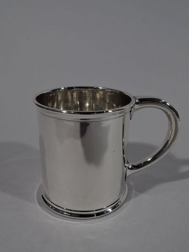 Antique American Edwardian Sterling Silver Baby Cup by JE Caldwell