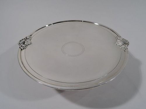 Tiffany American Modern Classical Sterling Silver Compote