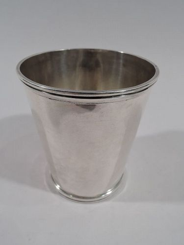Ohio Coin Silver Mint Julep Cup by Duhme of Cincinnati