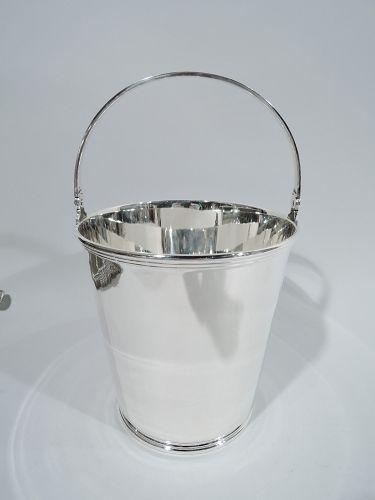 Tiffany Art Deco Sterling Silver Ice Bucket C 1927