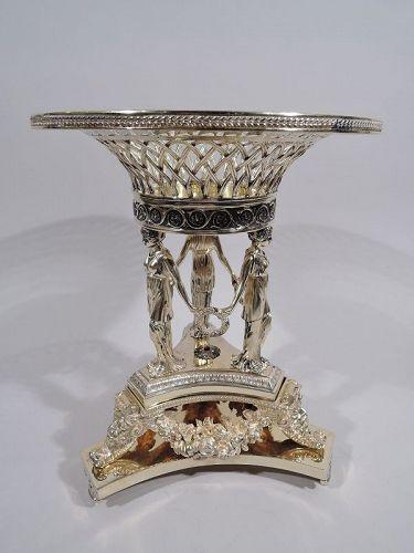 Regency Greek Revival Centerpiece After Nelson Rockefeller Original