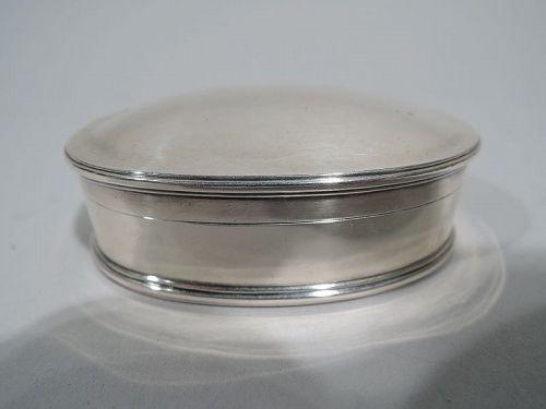 Arthur Stone American Craftsman Sterling Silver Trinket Box