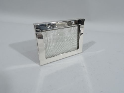 Tiffany Small & Modern Sterling Silver Frame for Landscape Picture