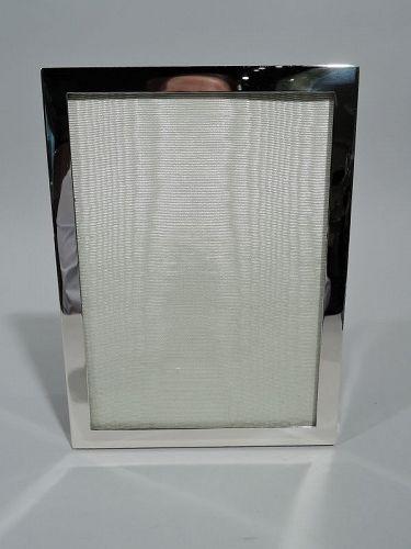 Cartier Modern Sterling Silver Portrait Picture Frame