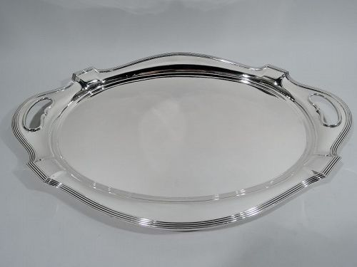 Gorham Plymouth Modern Sterling Silver Tea Tray 1950
