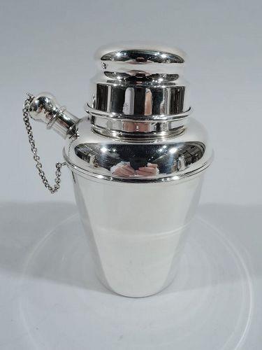 Reed & Barton Modern Sterling Silver Mini Martini Solo Shaker