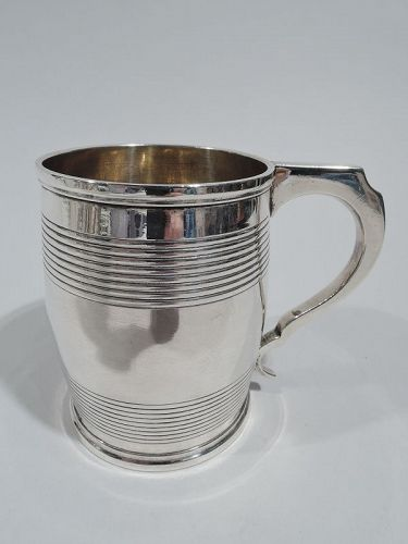 Antique English Georgian Sterling Silver Baby Cup 1821