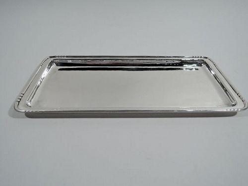 Kalo Chicago Craftsman Sterling Silver Rectangular Tray