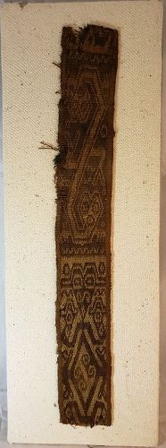 EARLY PRECOLUMBIAN PERUVIAN SOUTH COAST TEXTILE