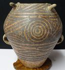 ANCIENT CHINESE NEOLITHIC POTTERY VASE