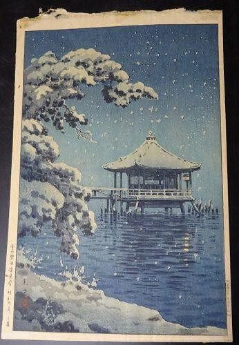 EARLY EDITION TSUCHIYA KOITSU JAPANESE SHIN HANGA PRINT