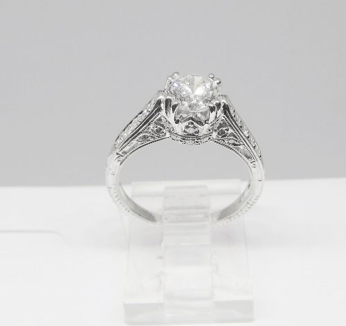 Diamond Engagement Ring 18Kt