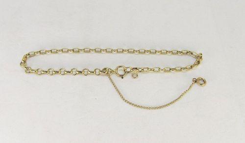 Charm Bracelet Vintage 14Kt Gold