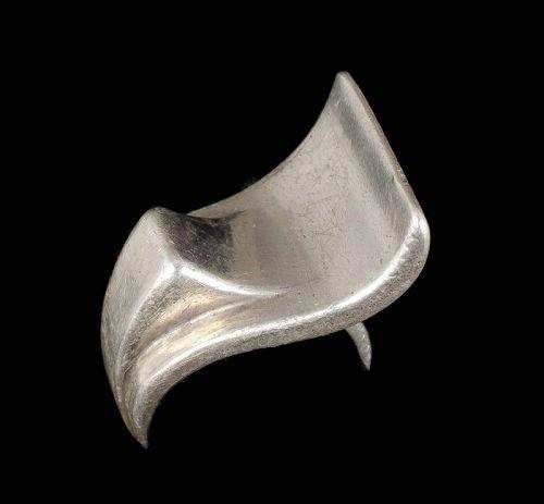 Antonio Pineda 970 silver mod wave Ring
