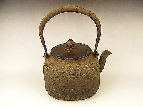 Japanese Early 20th C. Iron Tea Pot