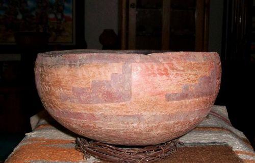 "Anasazi / Cibeque bowl ca. 1275 to 1375 ad. ""INTACT"" no restoration"