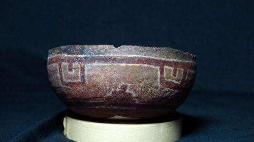 Cibecue polychrome bowl ca 1275 to 1375 ad.
