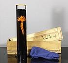 Lacquered Bamboo Hanaike by Tanabe Chikuunsai II
