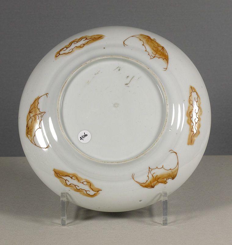 A Japanese Arita deep dish, early 19th century.