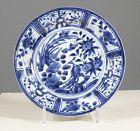 """An Arita Export porcelain """"Kraak"""" dish. 1690~1720. #1"""