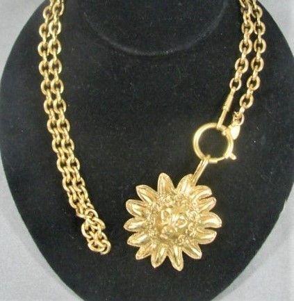 Authentic Chanel Sun Lion Necklace or Belt