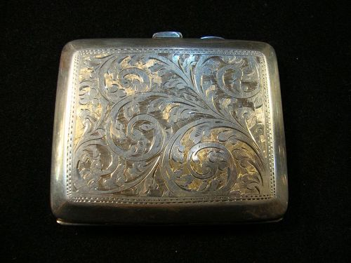 Sterling Cigarette Case