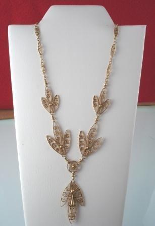 French Art Nouveau Necklace