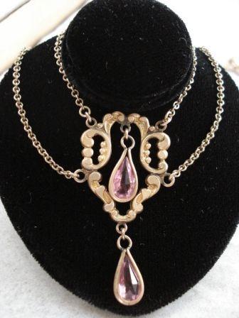 Delicate Art Nouveau Necklace