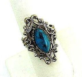 Nice Faux Turquoise Ring