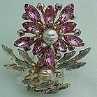 Very Large and Unusual Pink Pin