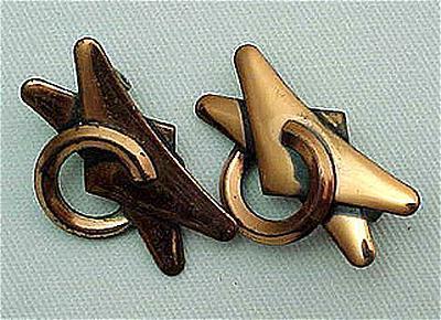 Very Nice Renoir Copper Earrings