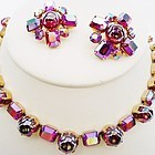 Fenichel Brightly Colored Rhinestone Demi