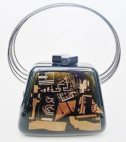 "Sobral ""Flash Gordon"" Resin Purse - Stunning"